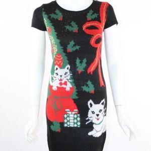 Xhilaration Women's Small Ugly Sweater Dress